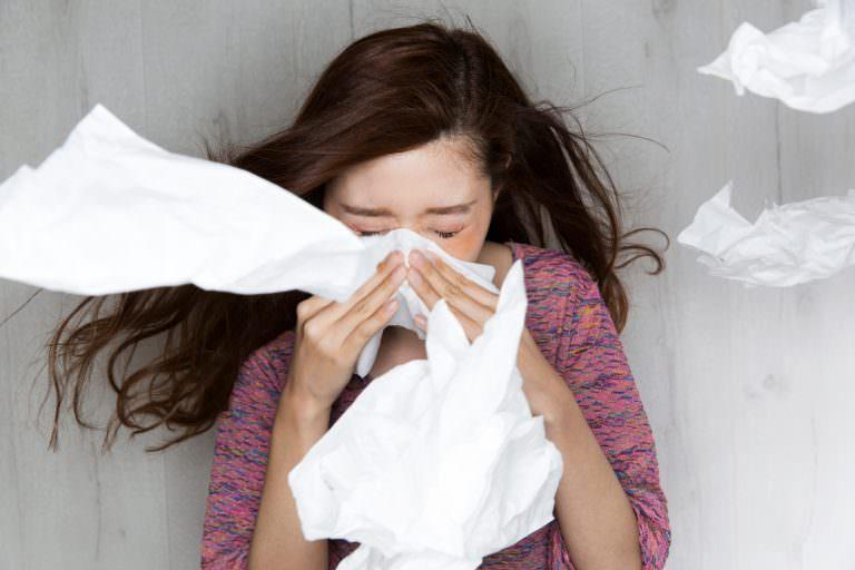 漢方の知恵で花粉症対策(1)冷えの花粉症ーくしゃみ・鼻水・鼻づまり対策~美髪のための養生のススメ⑭