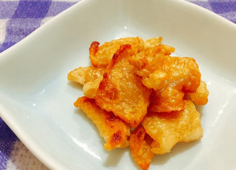 【美髪レシピ】鶏皮チップス ~グルテンフリーの簡単レシピ〜