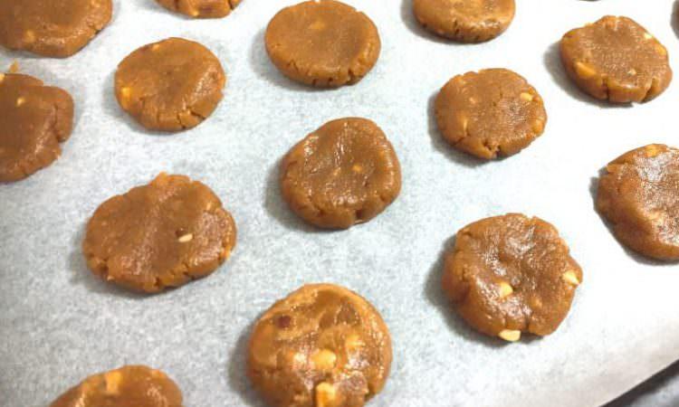 【美髪レシピ】ピーナツバタークッキー ~グルテンフリーの簡単レシピ〜